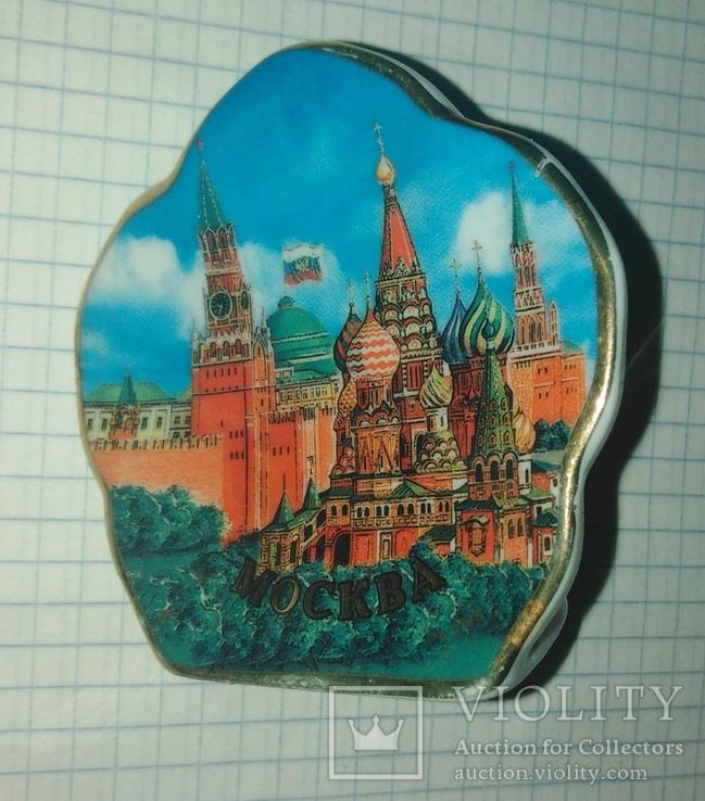 Керамический подсвечник Москава Кремль., фото №5