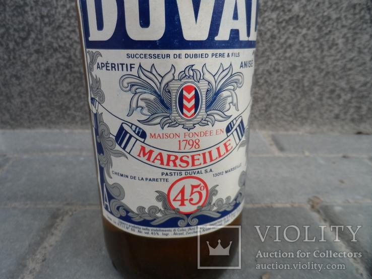 Ликер DUVAL 1 L gr 45 PASTIS MARSEILLE Франция, фото №6