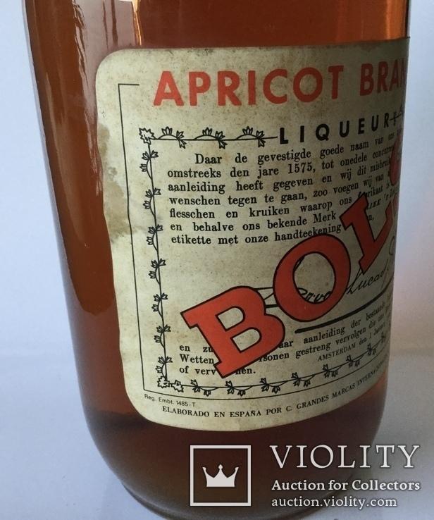 """Лікер,,Apricot Brandy"""". Bols / Нідерланди 1970s, фото №3"""