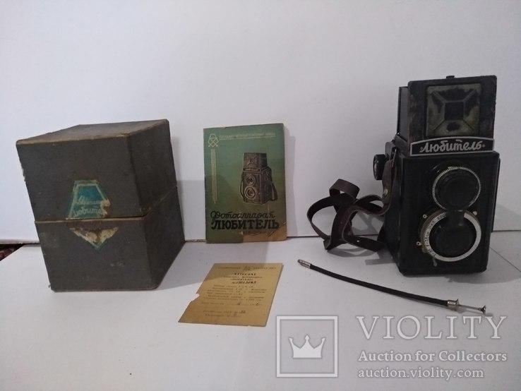 Любитель,1952 г., коробка, документ, фото №3