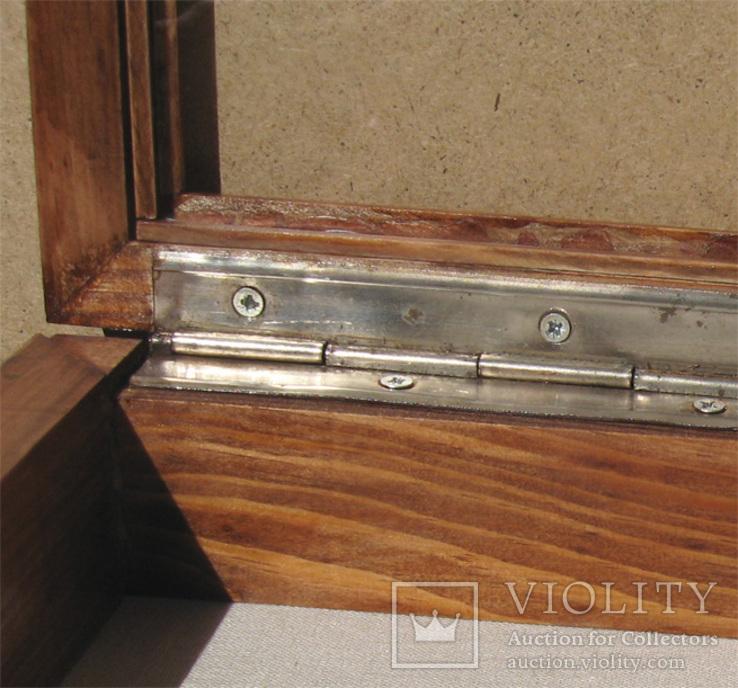 Глубокая рамка-витрина для серьёзной коллекции. 39х29см., фото №10
