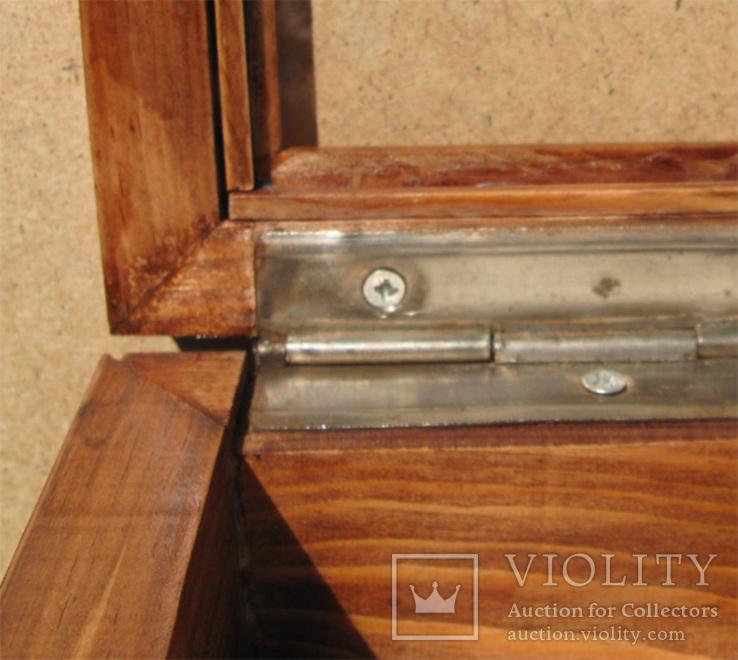 Глубокая рамка-витрина для серьёзной коллекции. 39х29см., фото №13