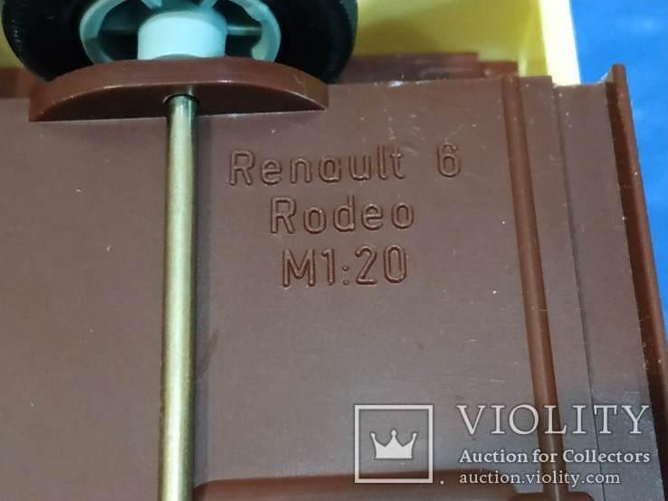 Рено-6 ГДР м. 1:20, фото №4