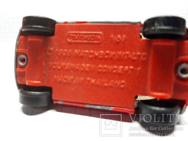 Matchbox Volkswagen 1995, фото №7