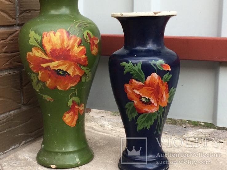 Две винтажные вазы, фото №3