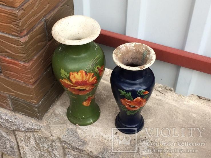 Две винтажные вазы, фото №4