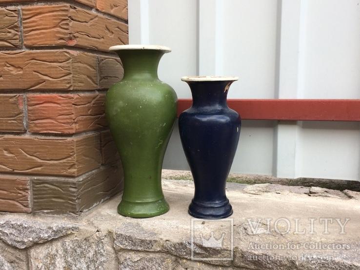 Две винтажные вазы, фото №6