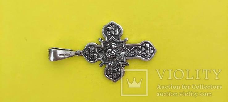 Хрест Срібло 925 проба. 8,45 грама., фото №2