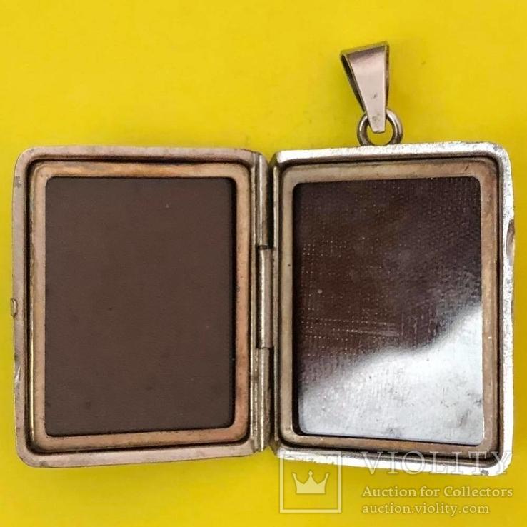 Кулон Срібло 835 проба. 10,12 грам. Під Фото., фото №4