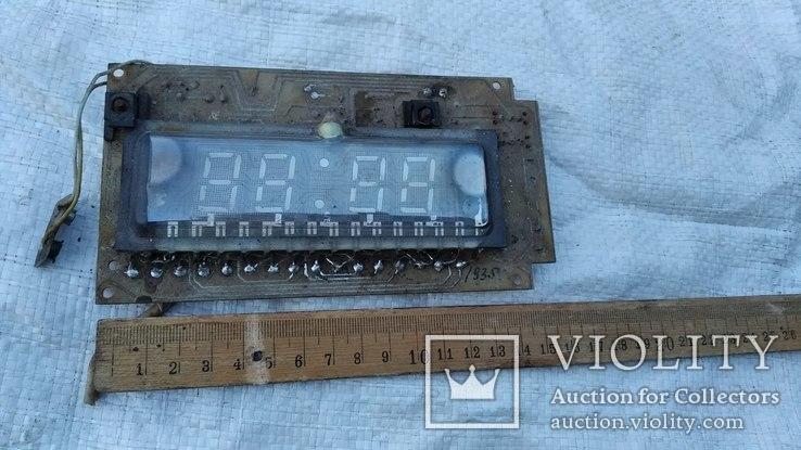 Плата - Эл.часы (из СССР), фото №3