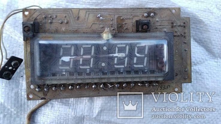 Плата - Эл.часы (из СССР), фото №5