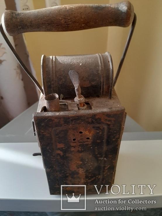 Карбидный фонарь 3 Рейх, фото №5