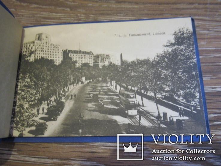 Великобритания. Лондон London набор открыток 5 штук, фото №3
