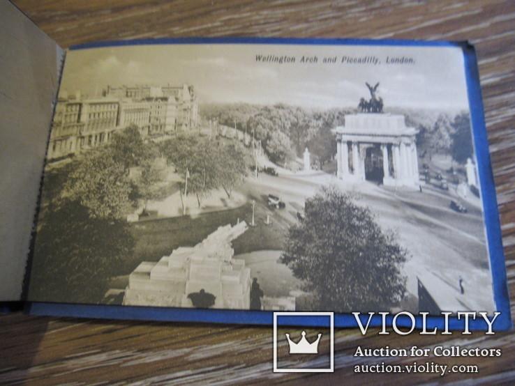 Великобритания. Лондон London набор открыток 5 штук, фото №7