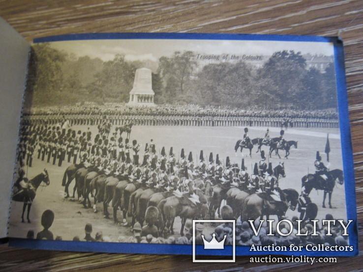 Великобритания. Лондон London набор открыток 5 штук, фото №8