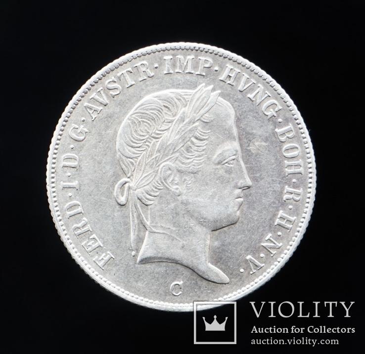20 Крейцеров 1846 С, Австро-Венгрия, фото №3