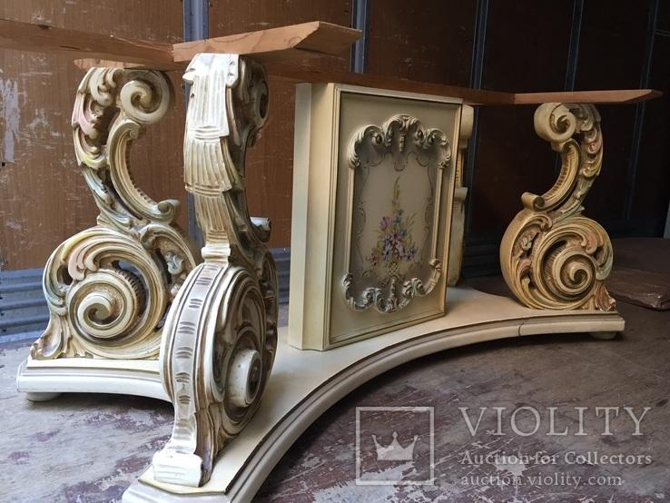 """Стіл у стилі """"барокко венеціано"""", фото №2"""