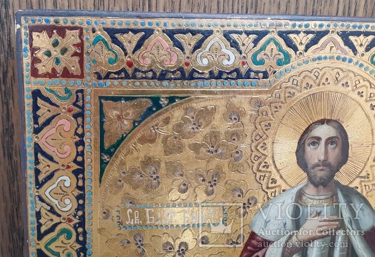 Икона Святой Князь Александр Невский., фото №9