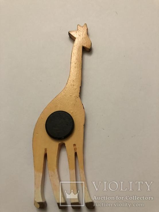 Сувенирный магнит Жираф, фото №3