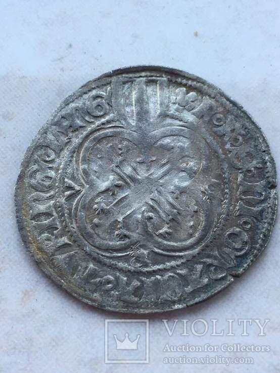 Cаксония Фридрих II (1428-1464). Грош (1454-1456)
