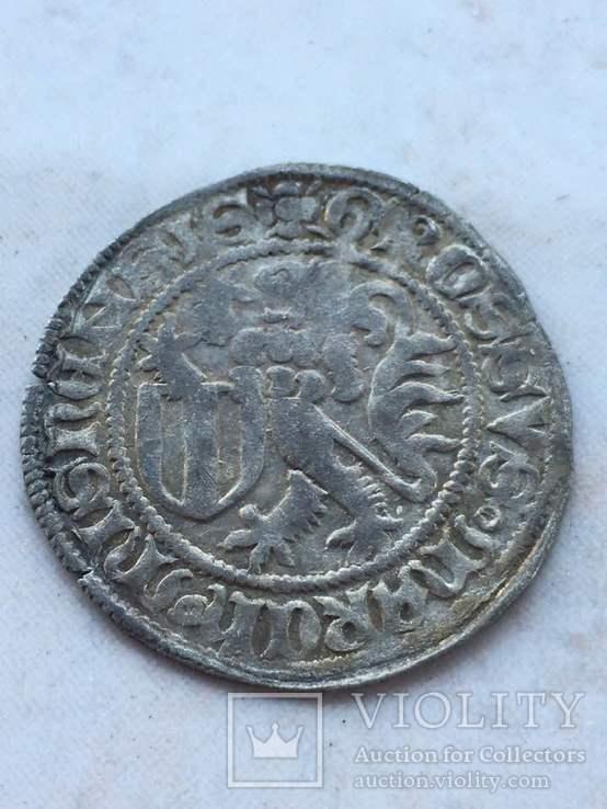 Cаксония Фридрих II (1428-1464). Грош (1454-1456), фото №3
