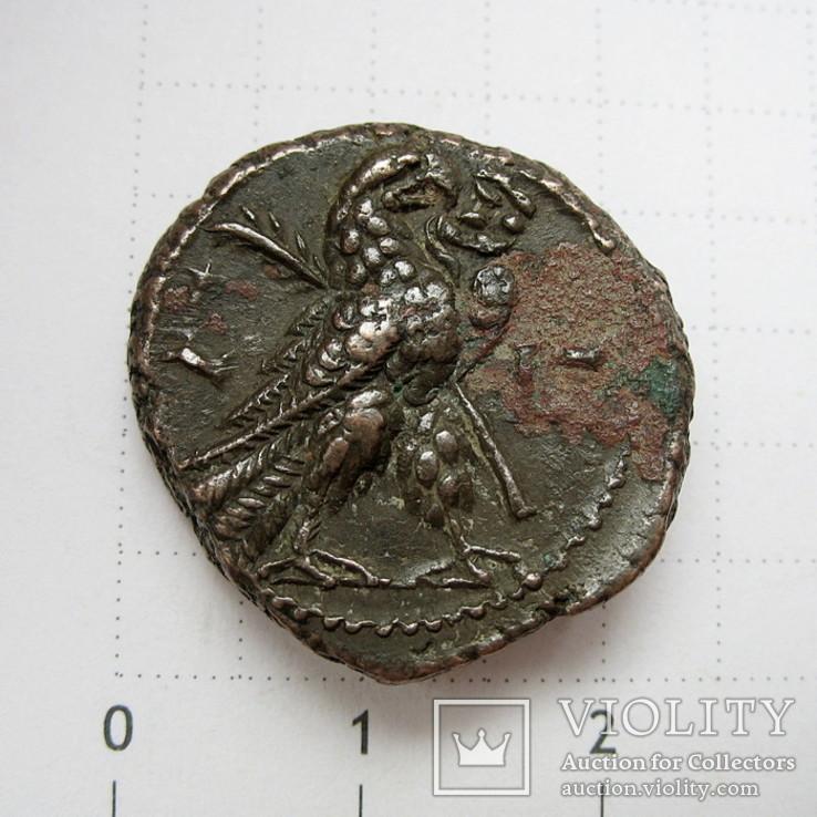 Галлиен, тетрадрахма, г. Александрия (Египет), вес 10,41 г.