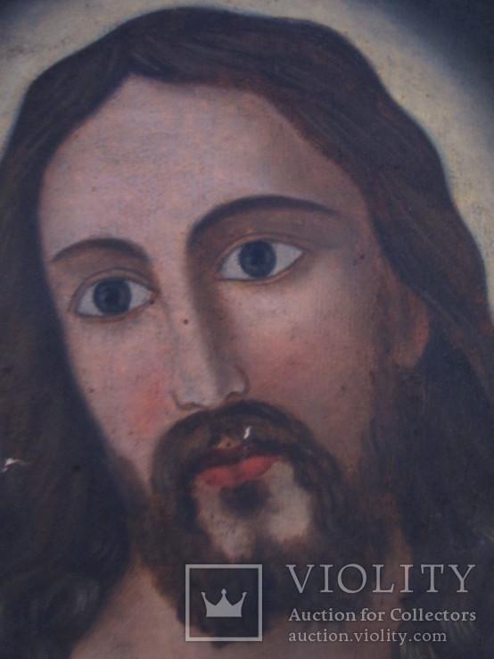 Пара народных икон. Святейшее сердце Иисуса Христа и Непорочное Сердце Девы Марии, фото №8