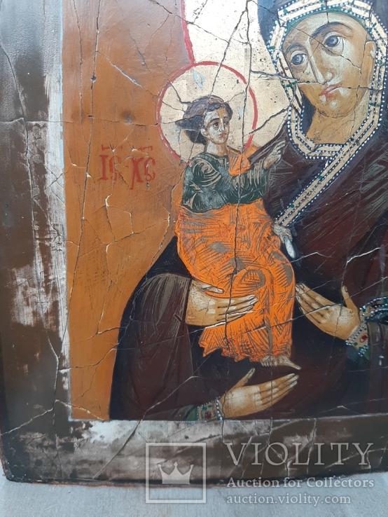 Икона Богородица Троеручица, фото №3
