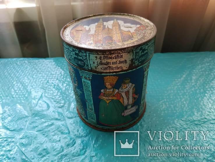 Коробка металлическая из Европы, фото №2