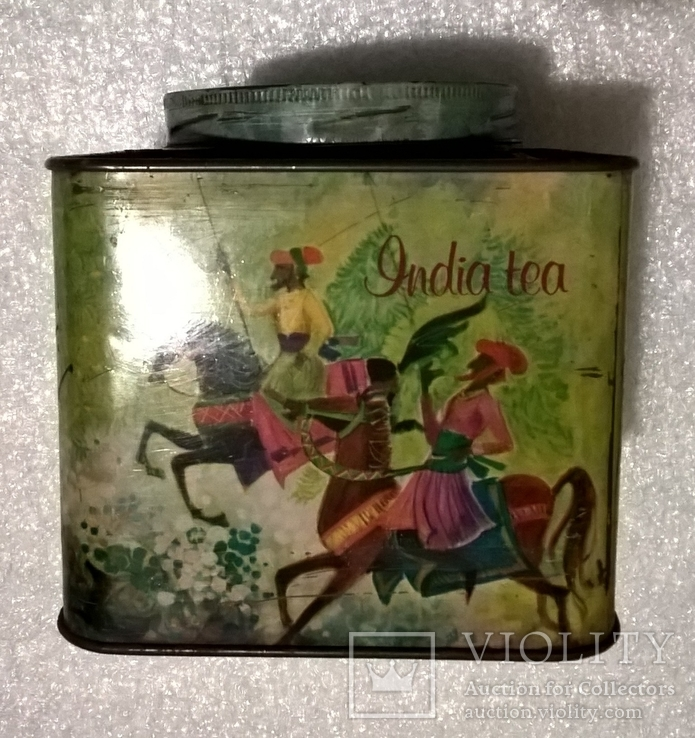 Банка от индийского чая, фото №2