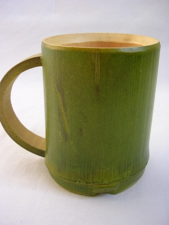 Чашка бамбуковая