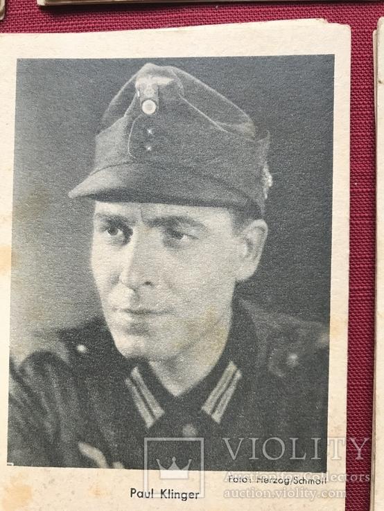 Набор старинных открыток с изображением германских артистов времен гитлеризма, фото №5