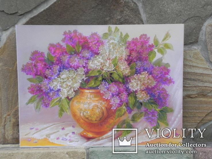 Цветочный натюрморт. Репродукция, фото №2