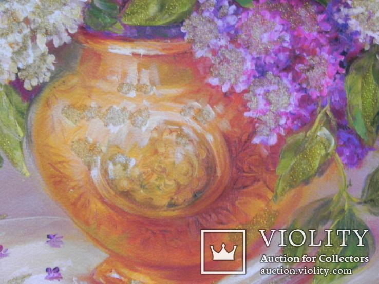Цветочный натюрморт. Репродукция, фото №3