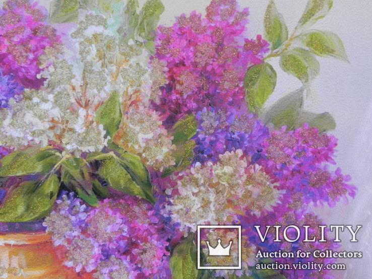 Цветочный натюрморт. Репродукция, фото №4