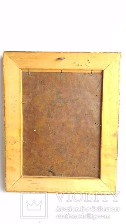 Старинная картина на медной пластине., фото №5