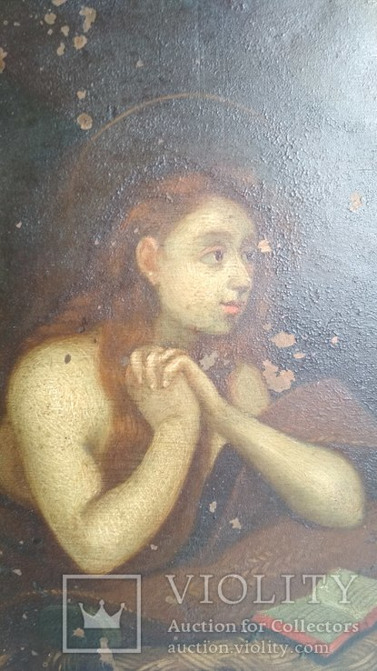 Старинная картина на медной пластине., фото №6