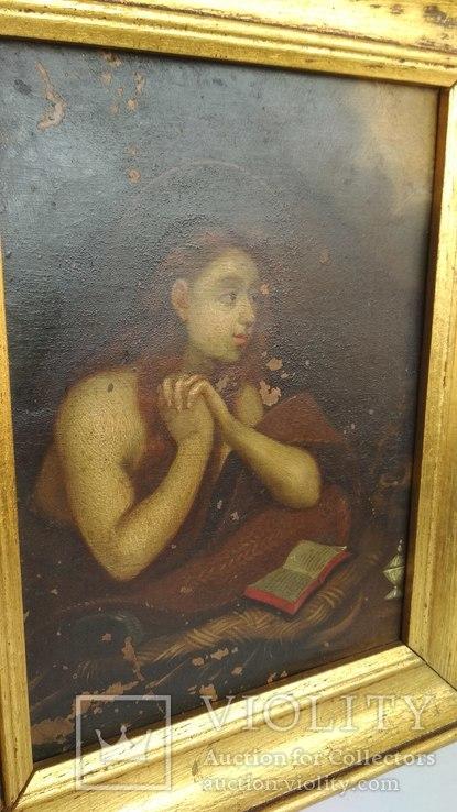 Старинная картина на медной пластине., фото №7
