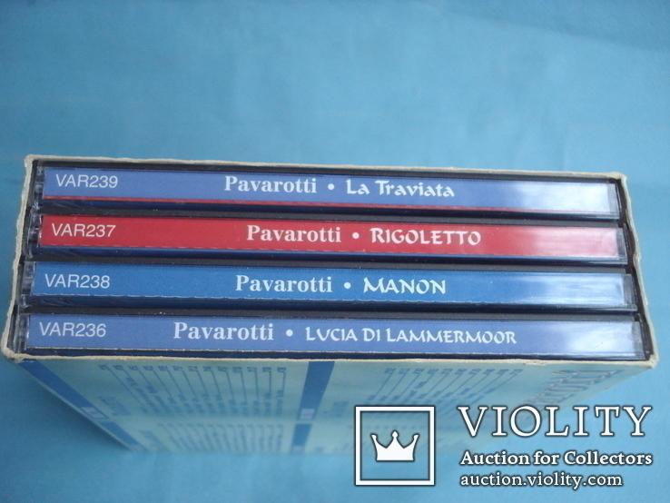 Паваротти (Pavarotti 4 Compact Disc Set) Великобритания, фото №3