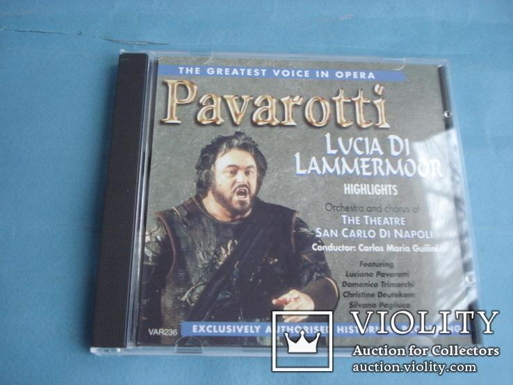 Паваротти (Pavarotti 4 Compact Disc Set) Великобритания, фото №4