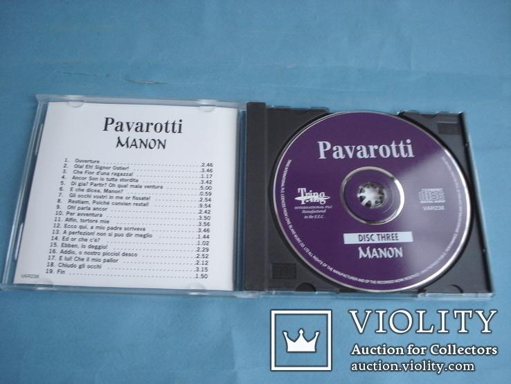 Паваротти (Pavarotti 4 Compact Disc Set) Великобритания, фото №10