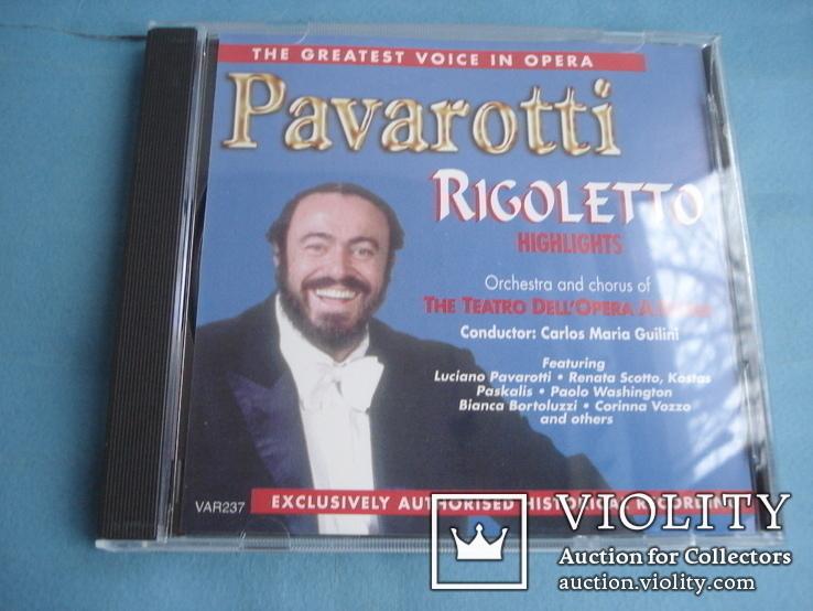 Паваротти (Pavarotti 4 Compact Disc Set) Великобритания, фото №12