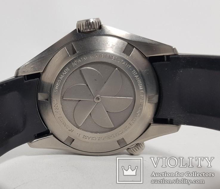 Edox Class 1 Titanium GMT Automatic, фото №4