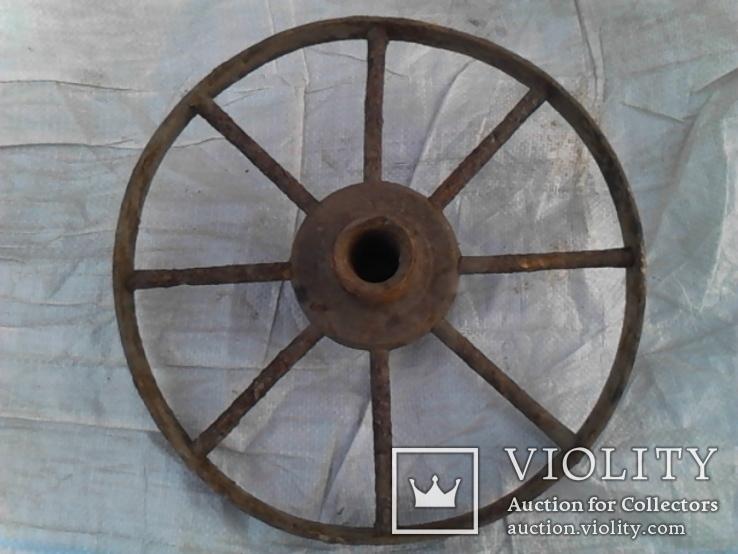 Старинное колесо, фото №3