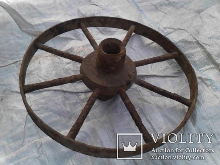Старинное колесо, фото №4