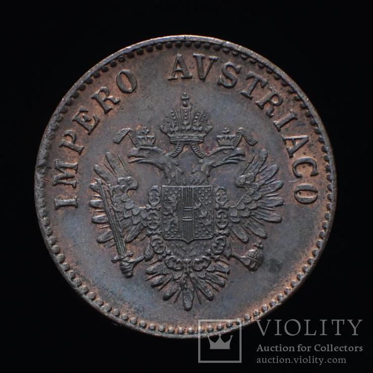 5 Чентезими 1852 М, Австро-Венгрия для Италии aUNC, фото №2