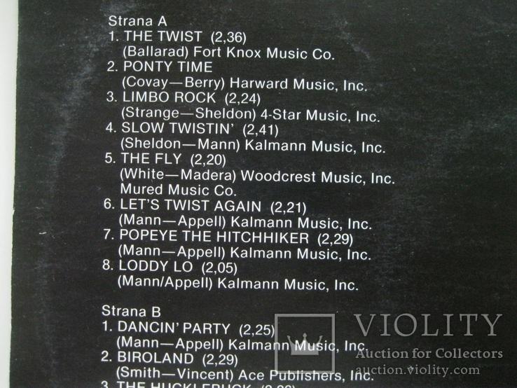 16 top hits Chubby Checker, фото №4