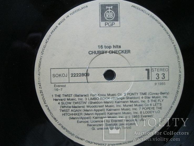 16 top hits Chubby Checker, фото №7