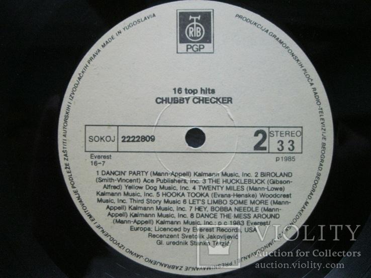 16 top hits Chubby Checker, фото №9