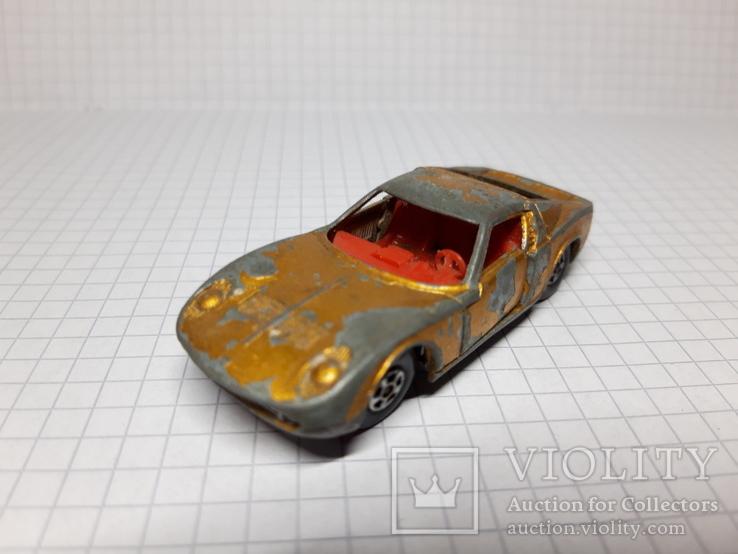 Matchbox Lamborghini Miura. Made in England, фото №3